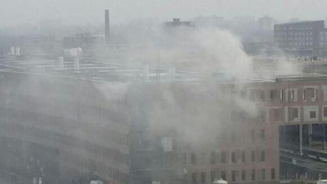 Treinverkeer Breda enkele uren stilgelegd na grote brand