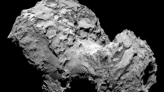 Bouwstenen van leven ontdekt op komeet met ruimtesonde Rosetta