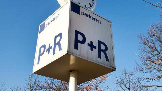 Parkeerterrein Minervum langs de A27 in Breda blijft nog leeg