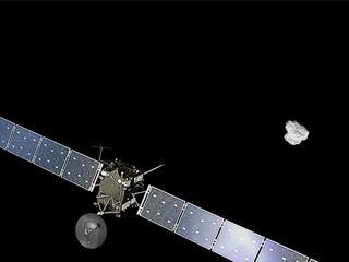 Kometenjager maakt voor fatale landing op komeet 67P laatste foto's