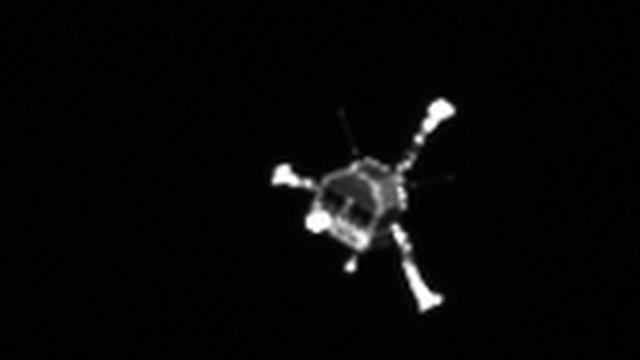 Ruimtesonde vindt robot Philae terug