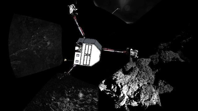 Project komeetlander Philae stopt na opraken energie ruimtesonde Rosetta