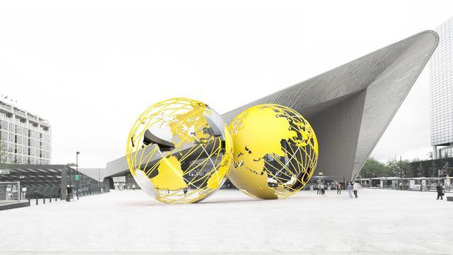 Rotterdam ziet af van kunstwerk Kissing Earth