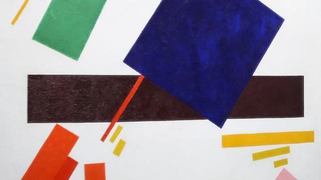 Stedelijk vindt unieke tekening van Malevich