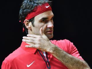 Monfils laat Federer kansloos in Davis Cup-finale