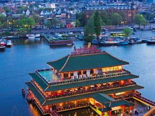 Sea Palace is verplaatst richting Amsterdam Centraal
