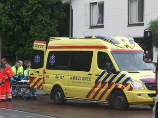 Traumahelikopter en ambulance ingezet