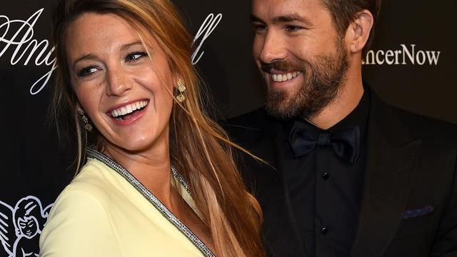 'Dochtertje Blake Lively en Ryan Reynolds heet James'