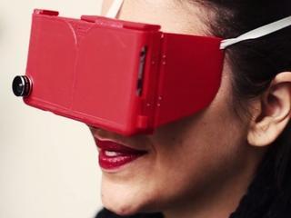 Vr-bril biedt ook besturing via handbewegingen
