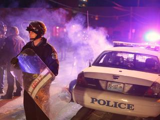 Omvang protest in schril contrast met maandag en dinsdag