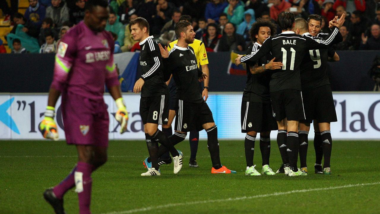 Real Madrid blijft aan kop na zege bij Malaga | NU - Het ...
