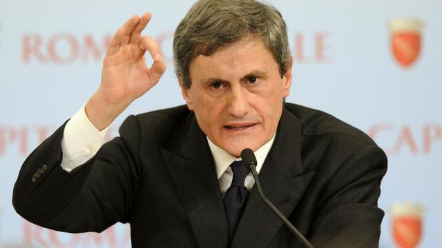 Ex-burgemeester Rome voor rechter wegens corruptie