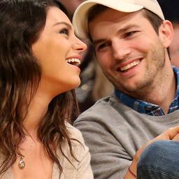 'Ashton Kutcher en Mila Kunis getrouwd'