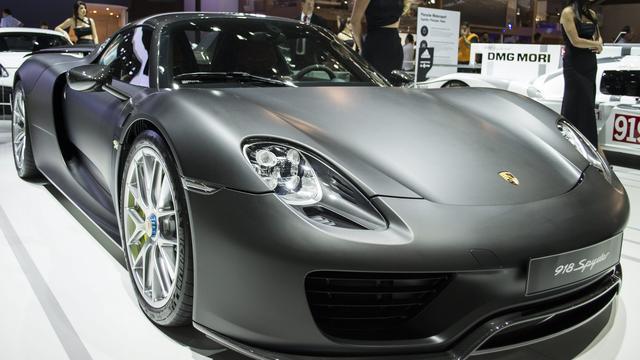 Porsche 918 Spyder terugroepen om chassis