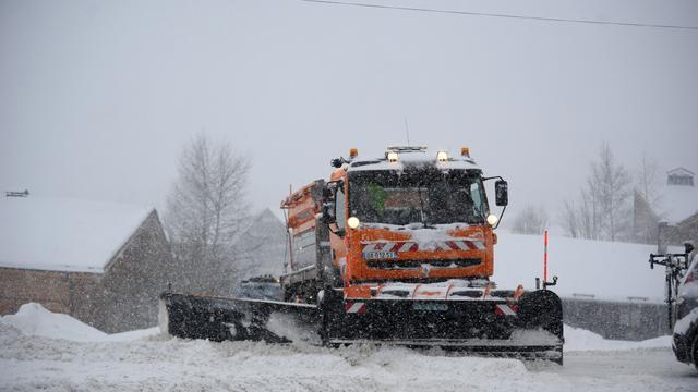 Misplaatst sneeuwschuifvoertuig Oostenrijk blijkt PR-stunt