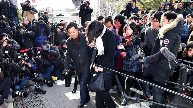 Jaar cel voor aanstichtster 'nootjesrel' Korean Air