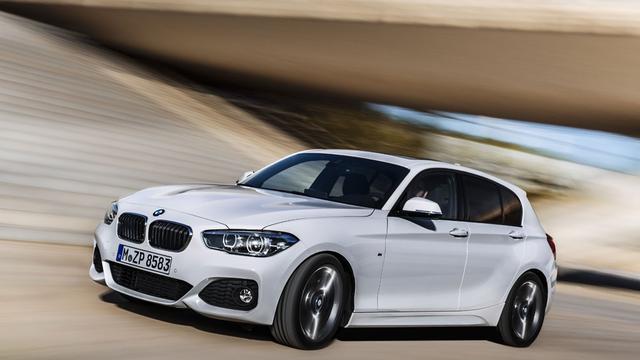 Prijslijst BMW 1-serie facelift start onder 25 mille