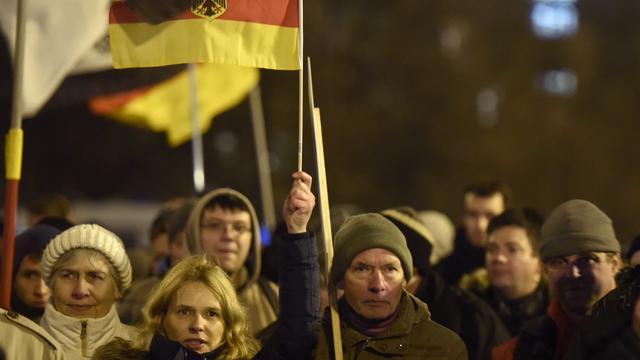 Koerden belagen demonstranten in Beieren