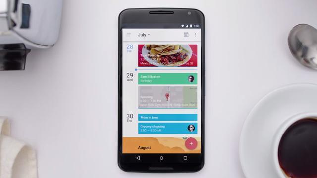 Google Agenda gebruikt data uit Google Fit en Apple Health