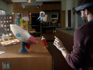Wordt de hologram het nieuwe beeldscherm?