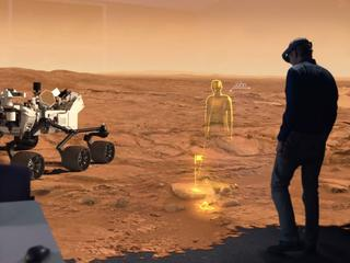 'Microsoft combineert virtuele en echte wereld'