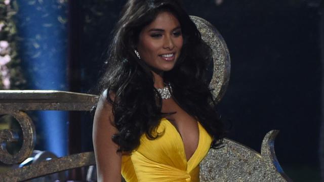 Nederlandse Yasmin Verheijen vierde in finale Miss Universe