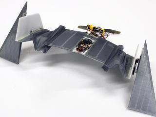 Robot kan landen en vervolgens verder lopen