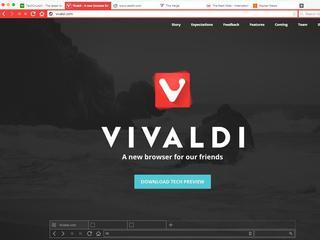 Vivaldi richt zich op intensief gebruik