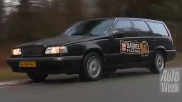Barrelbrigade Klokje Rond - Volvo 850 GLT - Marco Gorter
