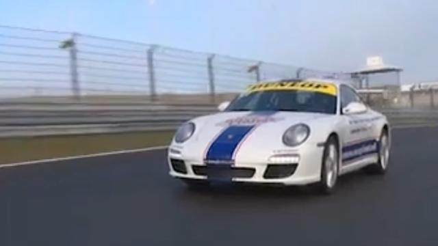 Jarig op Zandvoort met Ferrari en Porsche
