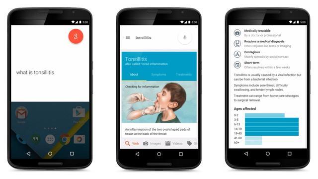 Google toont informatie over ziektes in zoekresultaten