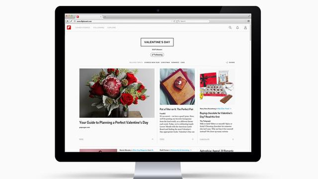 Flipboard introduceert webversie