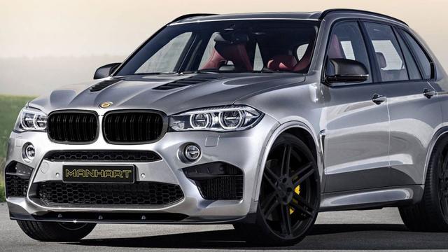 Manhart voert BMW X5 op