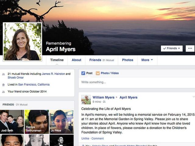 Nieuwe herdenkingspagina Facebook