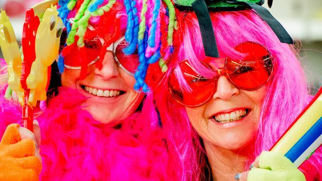 Carnaval op punt van losbarsten