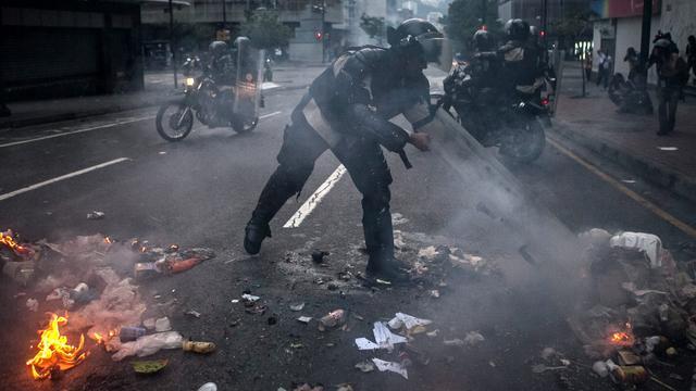 Gewonden bij protesten Venezuela