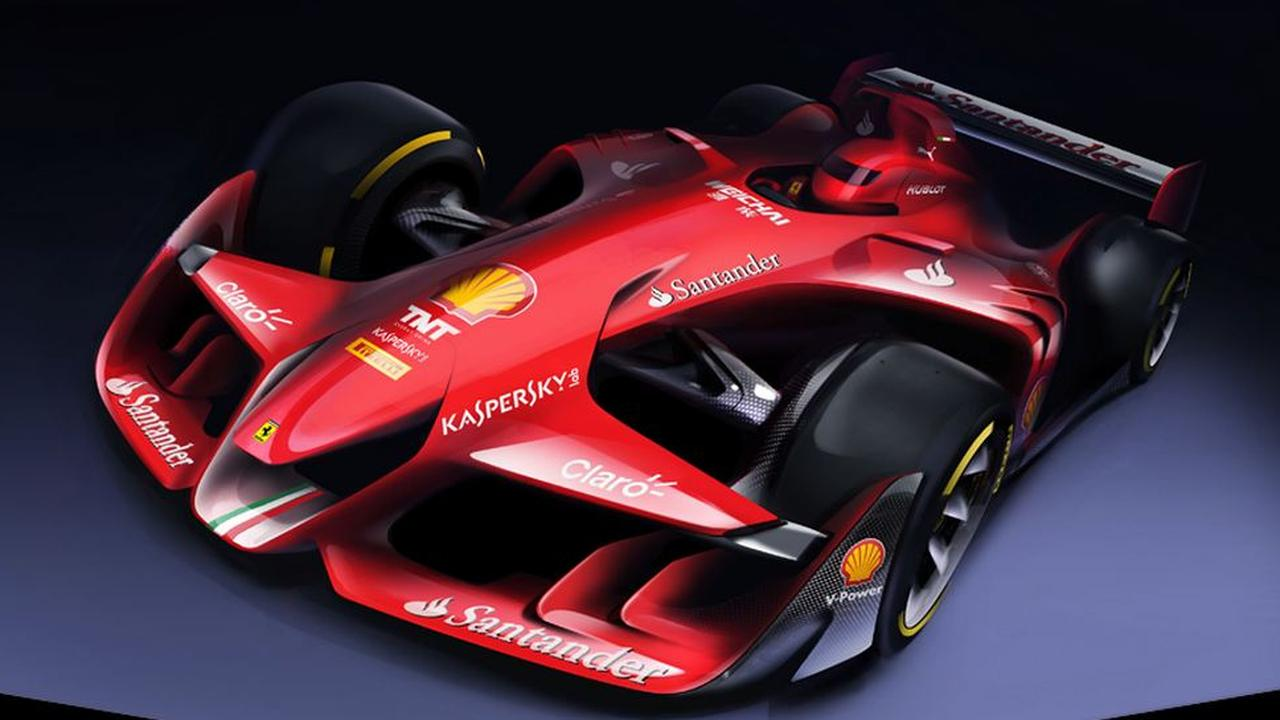 ferrari presenteert formule 1 auto van de toekomst nusport altijd sport. Black Bedroom Furniture Sets. Home Design Ideas