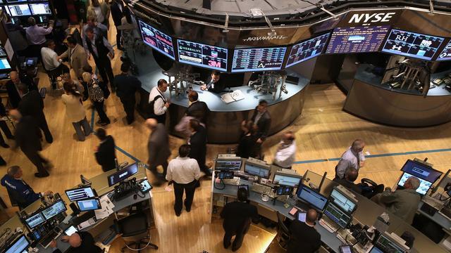 Bloedrode beursdag op Wall Street