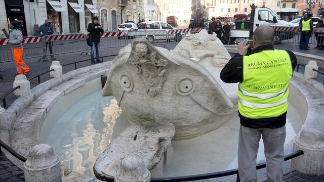 Politie gaat foto's relschoppers Rome openbaar maken