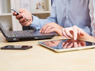 Mobiel internetgebruik lag in 2012 nog op 40 procent
