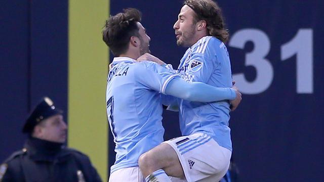 Pirlo en Villa combineren voor fraaie treffer New York City FC