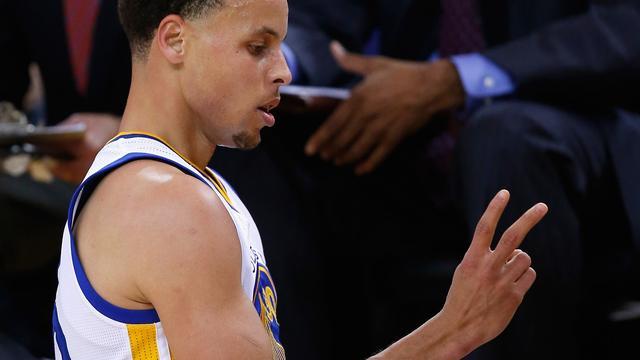 Golden State Warriors tweede team in play-offs NBA