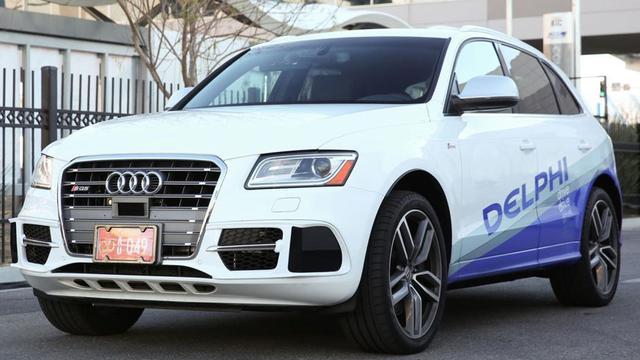 Audi SQ5 van Delphi gaat 'coast to coast'