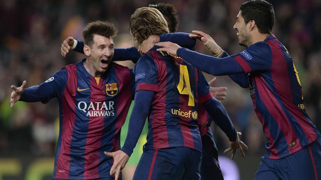 Enrique blij dat spelers Barcelona de aanval bleven zoeken