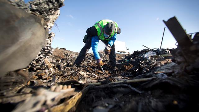 Team Defensie en politie opnieuw naar rampplek MH17