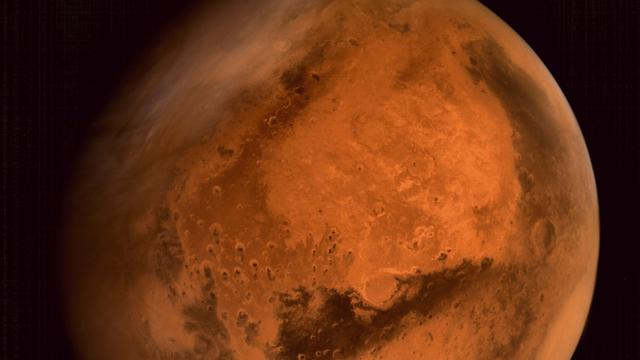 'Kokend water vervormt landschap op Mars'