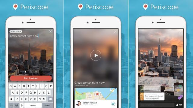 Twitter lanceert eigen livestreaming-app Periscope