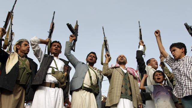 'Militaire coalitie Saudi-Arabië schendt wapenstilstand Jemen'