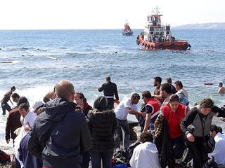 In 2015 al zeker 1.800 migranten omgekomen op Middellandse Zee