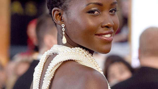 Lupita Nyong'o in gesprek met Marvel over rol in Black Panther